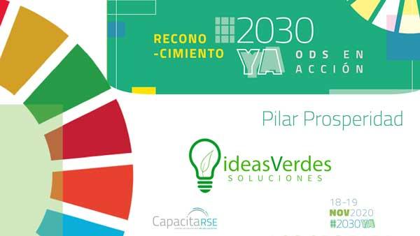 Ideas Verdes Soluciones, Reconocimiento ODS en Acción #2030YA