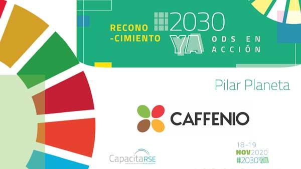 Caffenio, Reconocimiento ODS en Acción #2030YA